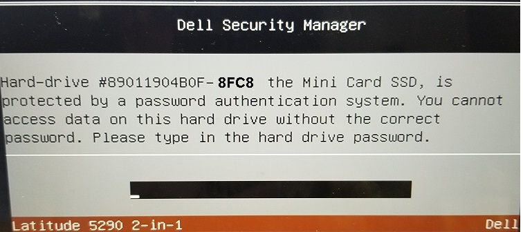 Dell 8fc8 HDD password